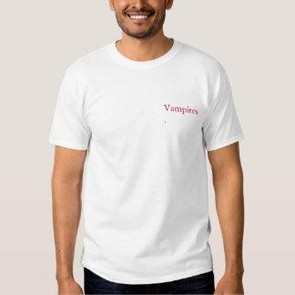Jag jagar vampyrT-tröja T-shirts