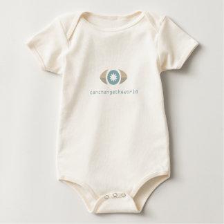 Jag kan ändra världen body för baby