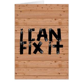 Jag kan fixa det hälsningskort