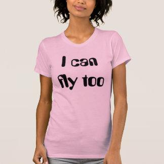 Jag kan flyga för tee shirts