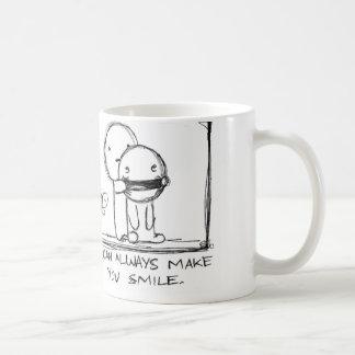 Jag kan göra dig att le koppen kaffemugg