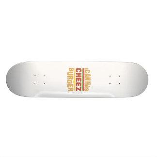 Jag kan har Cheezburger Mini Skateboard Bräda 18,7 Cm