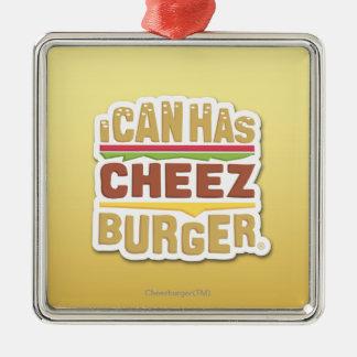 Jag kan har Cheezburger (skugga), Julgransprydnad Metall