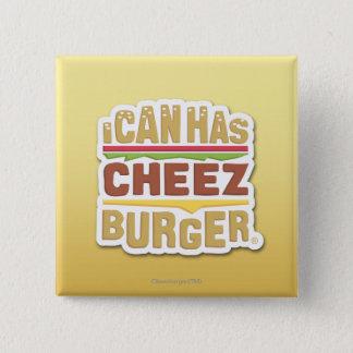 Jag kan har Cheezburger (skugga), Standard Kanpp Fyrkantig 5.1 Cm
