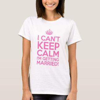 Jag kan inte hålla lugn som mig, gifta sig tröja