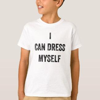 Jag kan klä jag själv (den bekymrade) T-tröja T Shirt