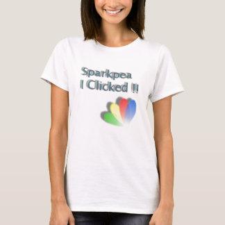 Jag klickade! tee shirt