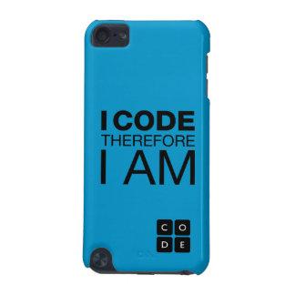 Jag kodifierar därför mig förmiddagen iPod touch 5G fodral