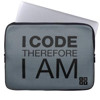 Jag kodifierar därför mig förmiddagen laptop fodral