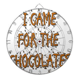 Jag kom för chokladerna piltavlor