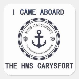 Jag kom ombord klistermärken