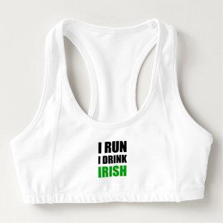 Jag kör drinkirländare Sport-BH