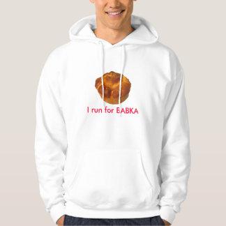 Jag kör för Babka svettskjorta Sweatshirt Med Luva