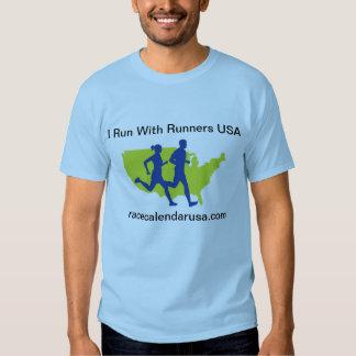 Jag kör med springer USA Tröjor