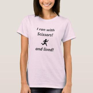 Jag körde med sax t-shirt