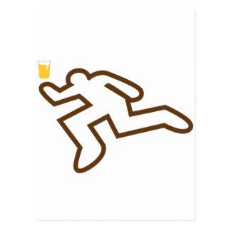 Jag kunde mörda en öl vykort