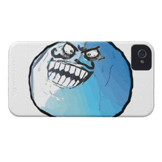 Jag låg komiska Meme iPhone 4 Case-Mate Fodraler