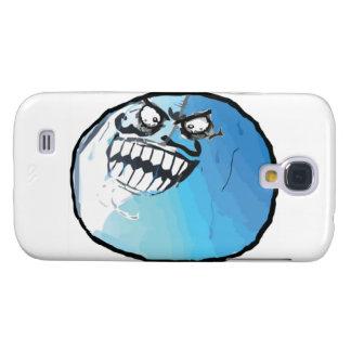Jag låg komiska Meme Galaxy S4 Fodral
