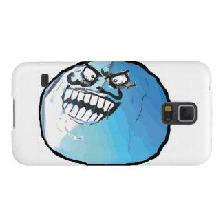 Jag låg komiska Meme Galaxy S5 Fodral
