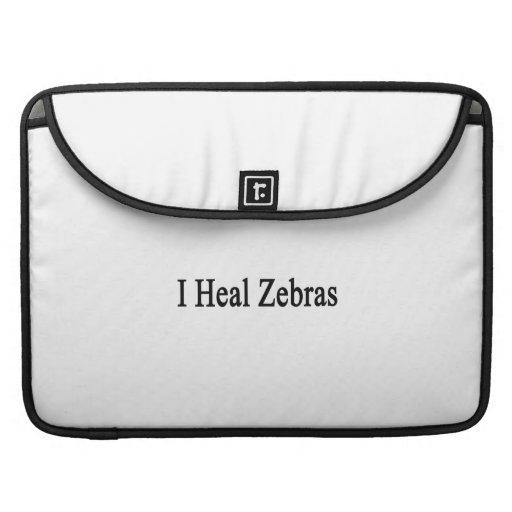 Jag läker zebror sleeves för MacBooks