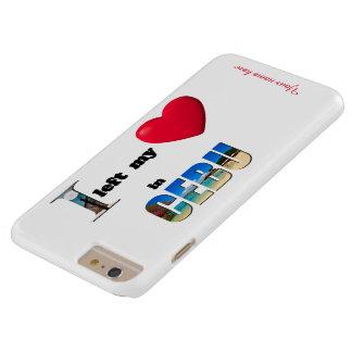 Jag lämnade min hjärta i Cebu - älska plusfodral Barely There iPhone 6 Plus Skal