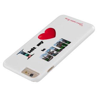 Jag lämnade min hjärta i fodral för plus för barely there iPhone 6 plus fodral