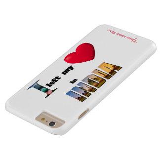 Jag lämnade min hjärta i fodral för plus för barely there iPhone 6 plus skal