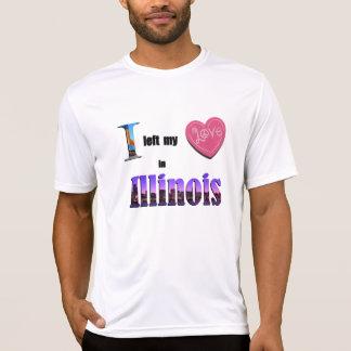 Jag lämnade min hjärta i gåva för Illinois Tröjor