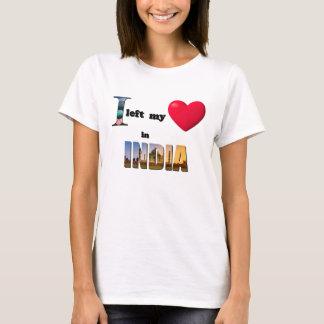 Jag lämnade min hjärta i Indien - kärlekgåva att Tröjor