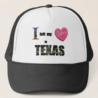 Jag lämnade min hjärta i Texas - älska Keps