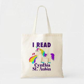 Jag läste den Cynthia St Aubin totot Tygkasse