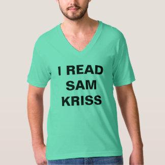 Jag läste den Sam Kriss T-tröja Tröja