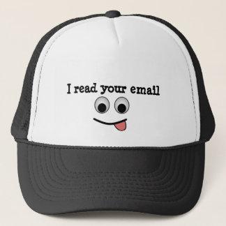 Jag läste din e-posthatt keps