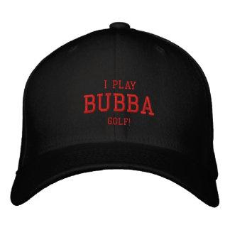 Jag leker Bubba Golf! Broderad hatt