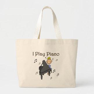 Jag leker pianoT-tröja och gåvor Tote Bags