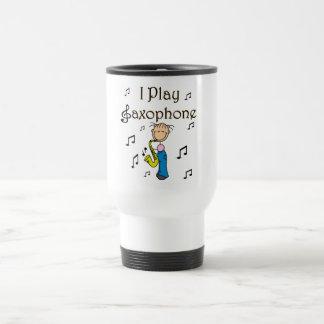 Jag leker saxofonT-tröja och gåvor Kaffe Koppar