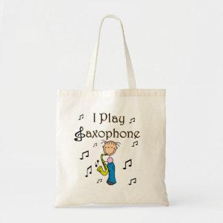 Jag leker saxofonT-tröja och gåvor Tote Bag