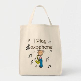 Jag leker saxofonT-tröja och gåvor Tygkassar
