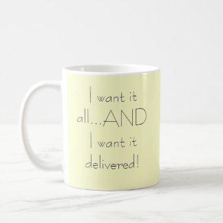 Jag önskar allt det…, OCH jag önskar det Kaffemugg