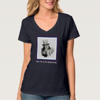 Jag önskar att du ska älska mornaturen tee shirt