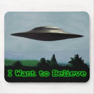 Jag önskar att tro musmatta