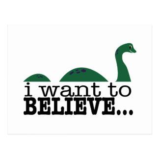 Jag önskar att tro… vykort