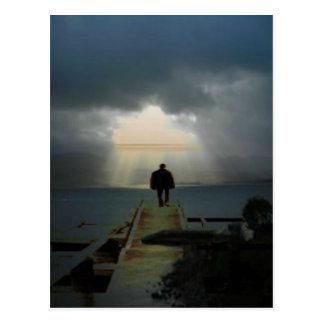 Jag önskar att vara var den ljusa shines.jpg vykort