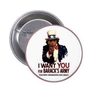Jag önskar dig - politiska Obama knäppas Standard Knapp Rund 5.7 Cm