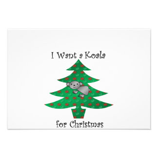 Jag önskar en koala för jul