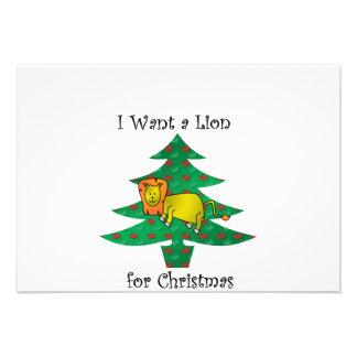 Jag önskar ett lejont för jul