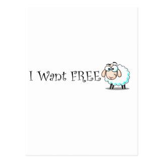 Jag önskar fritt vykort