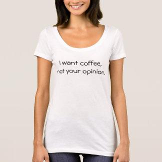 Jag önskar kaffe tröja