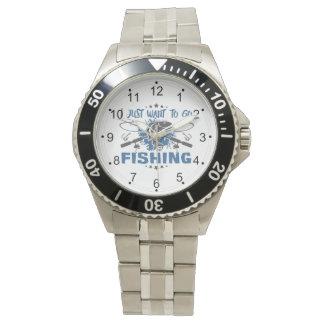 Jag önskar precis att gå att fiska armbandsur