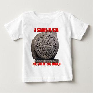 JAG ÖVERLEVDE 2012 avsluta av världen Tshirts